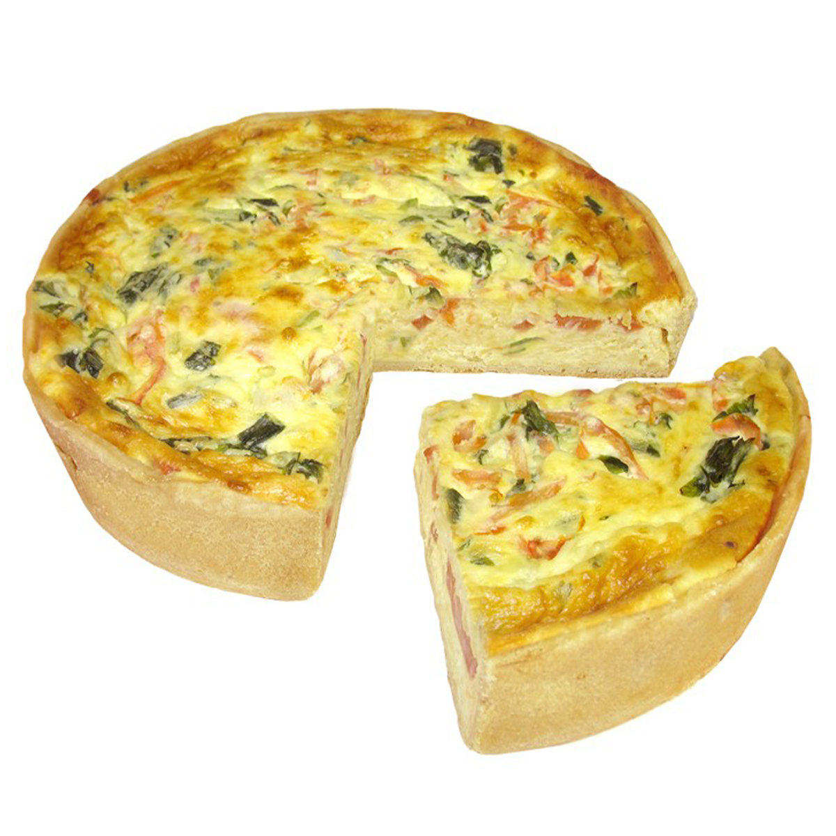 2742 Tomato and Spring Onion Quiche