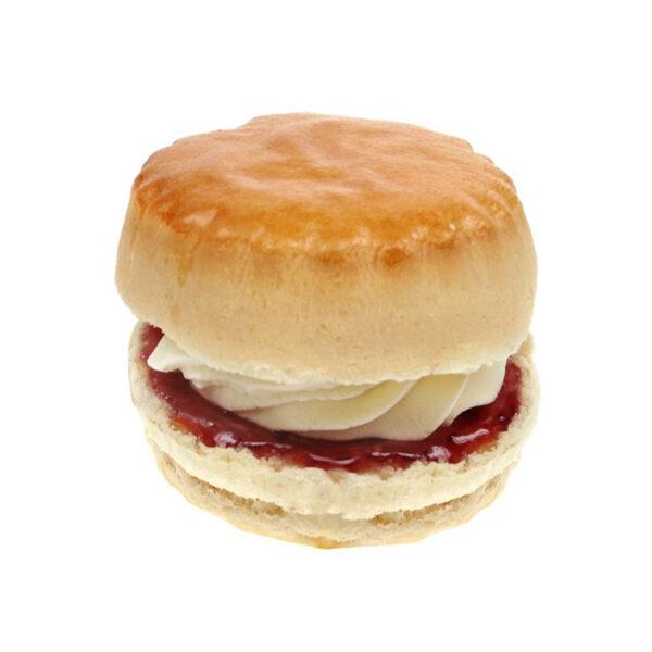 Cream Jam Scone