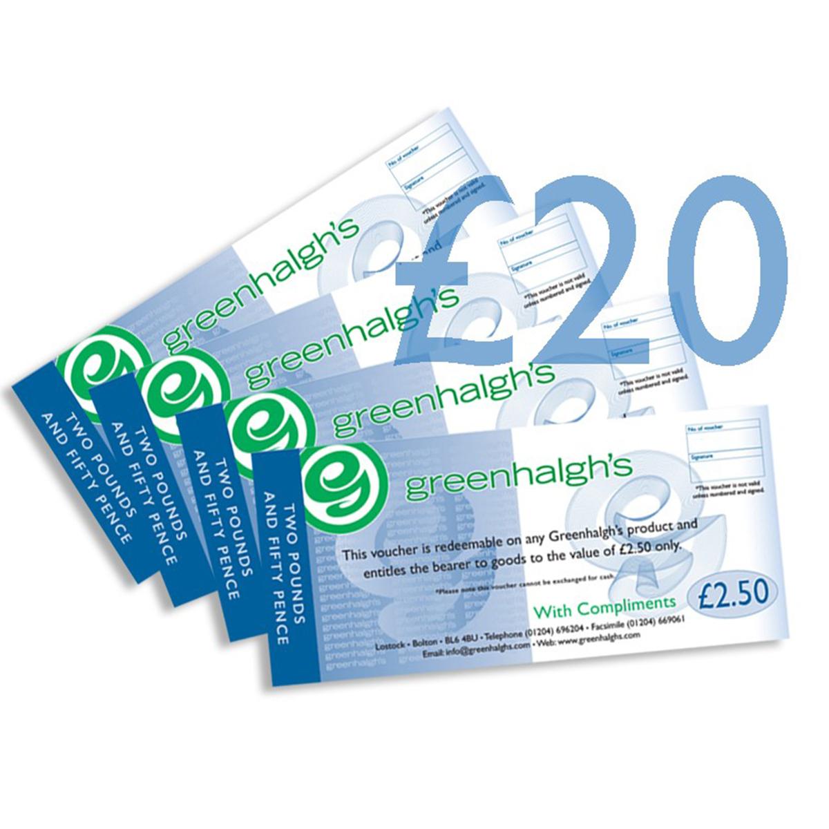 vouchers gift £20 99002