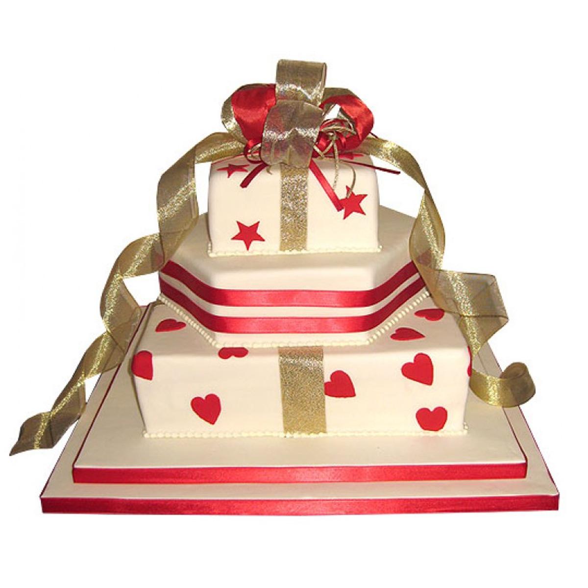 Parcels Wedding Cake