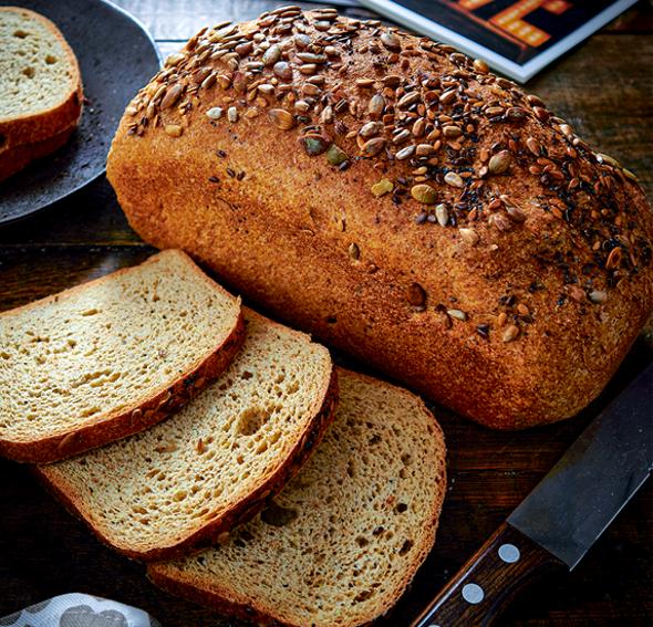 Square low carb bread