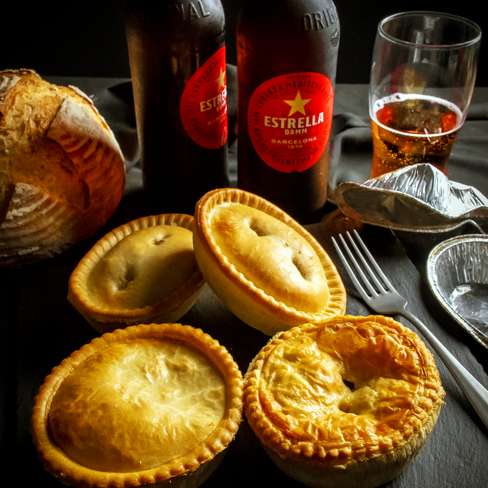 pie and beer hamper